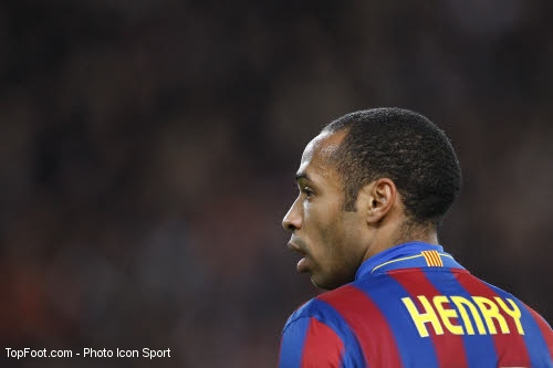 Thierry Henry au FC Barcelone
